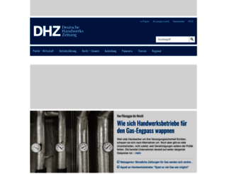 deutsche-handwerks-zeitung.de screenshot