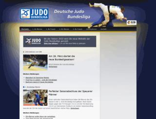 deutsche-judo-bundesliga.de screenshot