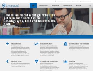 deutschefinanzprofis.de screenshot
