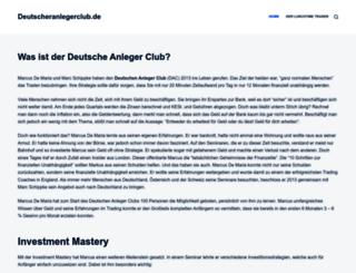 deutscheranlegerclub.de screenshot