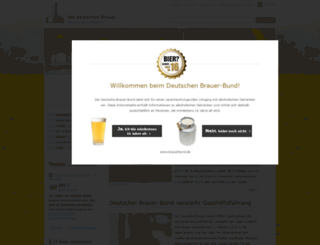 deutsches-bier.net screenshot