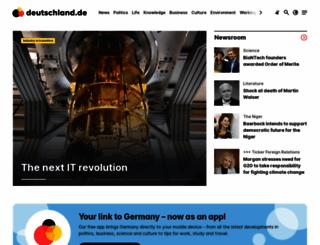 deutschland.de screenshot