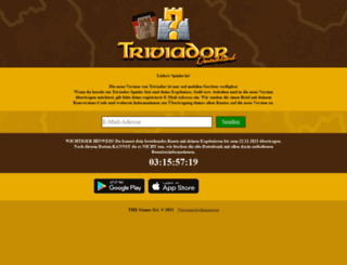 deutschland.triviador.net screenshot