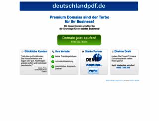 deutschlandpdf.de screenshot