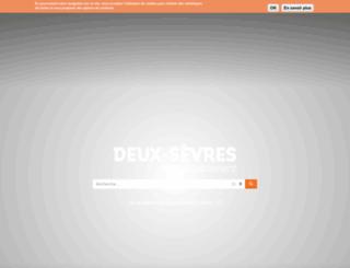deux-sevres.com screenshot