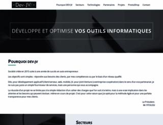 dev-jv.com screenshot