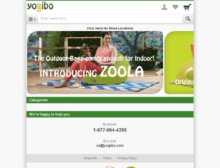dev-yogibo-com.shopgate.com screenshot