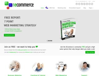 dev.1-ecommerce.com screenshot