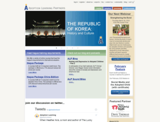 dev.adoptionlearningpartners.org screenshot