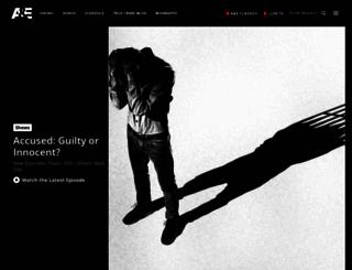 dev.aetv.com screenshot