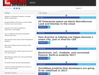 dev.appdevelopermagazine.com screenshot