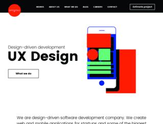 dev.artegence.com screenshot