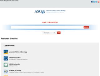dev.asco.org screenshot