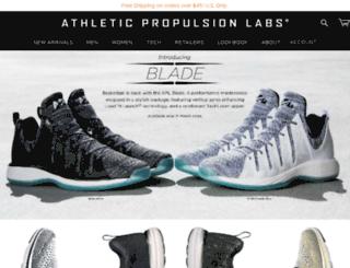 dev.athleticpropulsionlabs.com screenshot