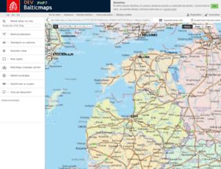 dev.balticmaps.eu screenshot