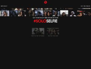 dev.beatssoloselfie.com screenshot