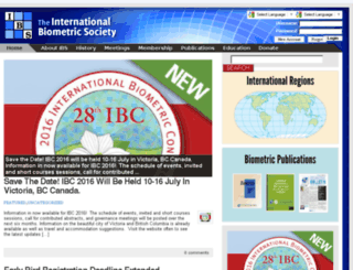 dev.biometricsociety.org screenshot