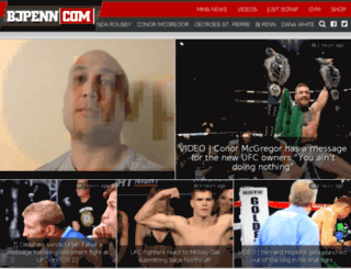 dev.bjpenn.com screenshot