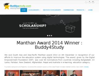 dev.buddy4study.com screenshot