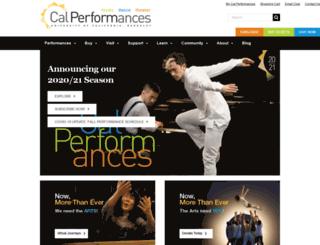 dev.calperformances.org screenshot