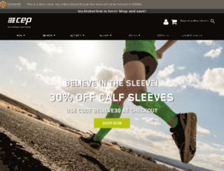 dev.cepcompression.com screenshot