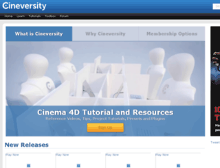 dev.cineversity.com screenshot