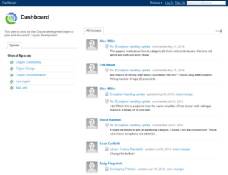 dev.clojure.org screenshot