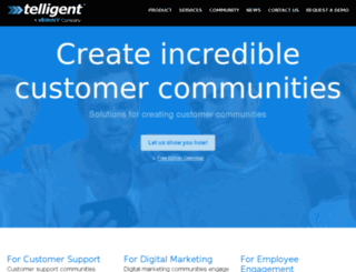 dev.communityserver.com screenshot