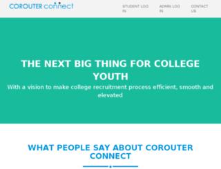 dev.corouter.com screenshot