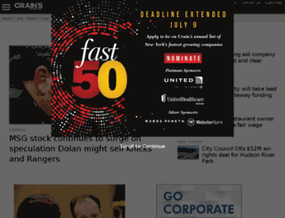 dev.crainsnewyork.com screenshot