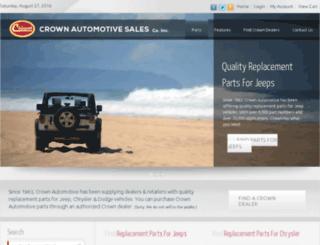 dev.crownautomotive.net screenshot