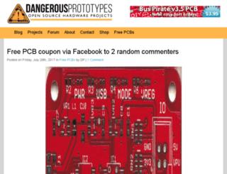 dev.dangerousprototypes.com screenshot