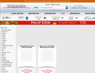 dev.dexclusive.com screenshot