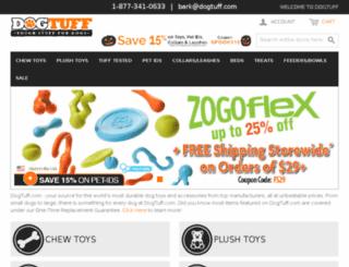 dev.dogtuff.com screenshot