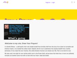 dev.drawyourprayers.com screenshot