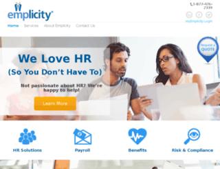 dev.emplicity.com screenshot