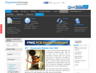 dev.engineersgarage.com screenshot