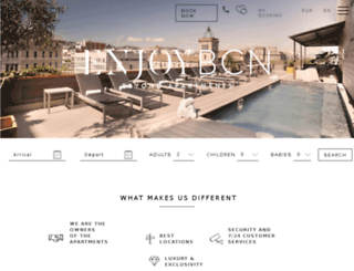 dev.enjoybcn.com screenshot