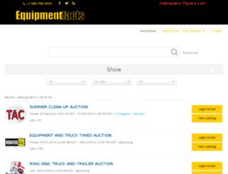 dev.equipmentfacts.bid screenshot