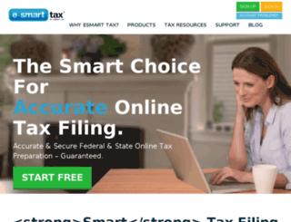 dev.esmarttax.com screenshot