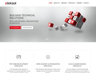 dev.eteksol.com screenshot