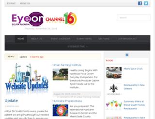 dev.eyesonnews.com screenshot