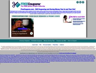dev.freecoupons.com screenshot