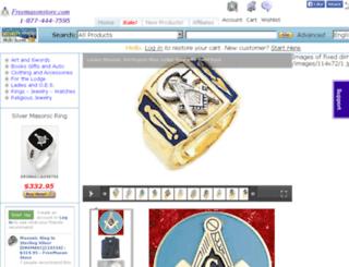 dev.freemasonstore.com screenshot