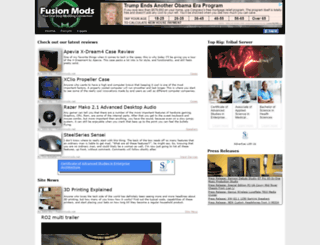 dev.fusionmods.net screenshot