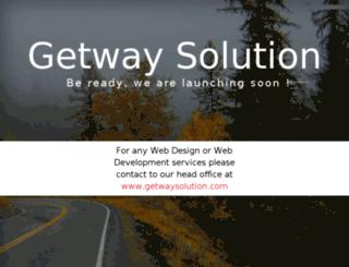 dev.getwaysolution.com screenshot