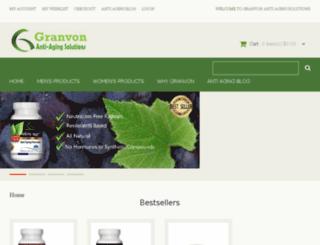 dev.granvon.com screenshot