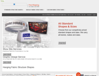 dev.hangingfabricstructures.com screenshot