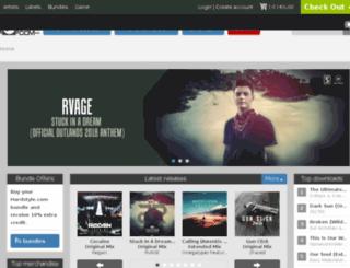 dev.hardstyle.com screenshot