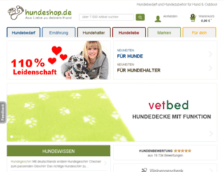 dev.hundeshop.de screenshot
